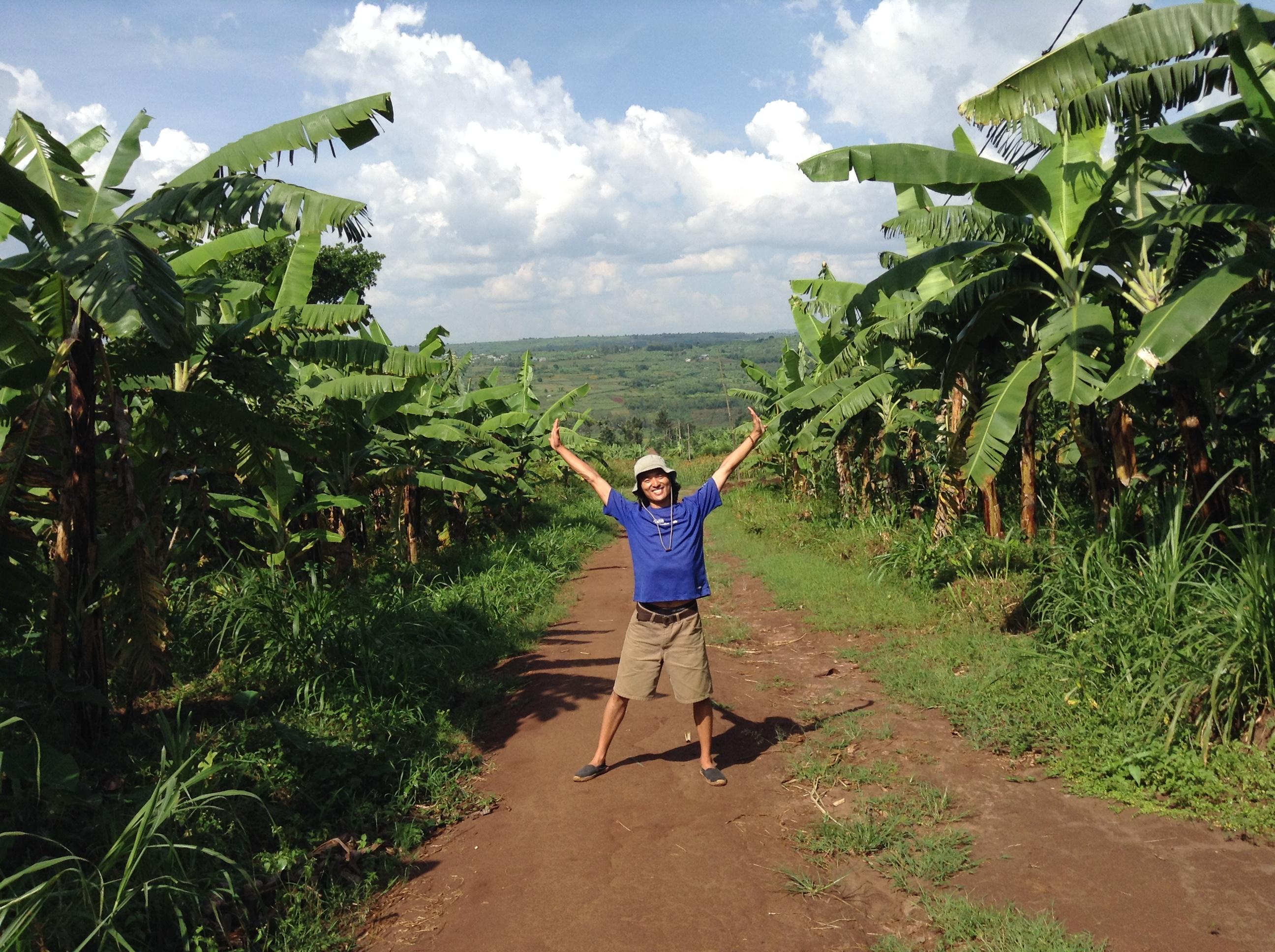 big hug from Rwanda